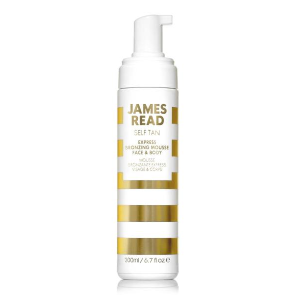 Экспресс Мусс для Лица и Тела с Эффектом Автозагара James Read Self Tan Express Bronzing Mousse Face & Body 200 мл