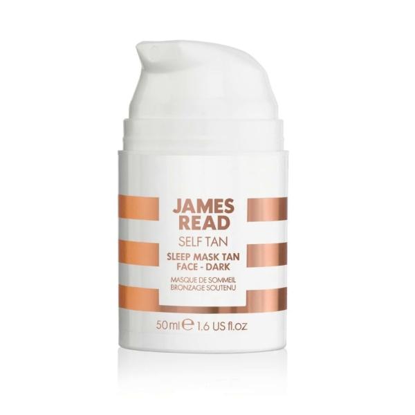 Ночная Маска для Лица с Эффектом Загара (Темная) James Read Sleep Mask Tan Go Darker Face 50 мл