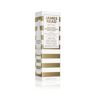 Бронзирующий Мусс-Автозагар для Лица и Тела (Обычный) James Read Fool Proof Bronzing Mousse 100 мл