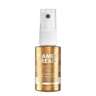 Мерцающий Спрей для Тела с Эффектом Автозагара James Read H2O Illuminating Body Mist 30 мл