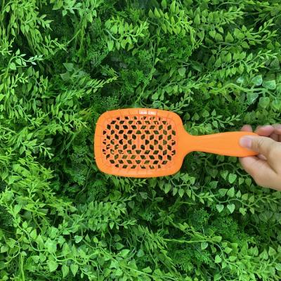 Расчёска Лососевый Неон Janeke Neon Orange Superbrush