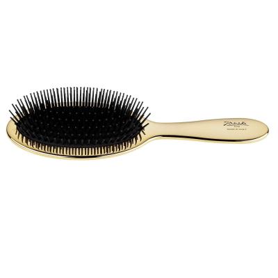 Щетка с Карбоновыми Зубчиками Золотистая Janeke Golden Pneumatic Brush