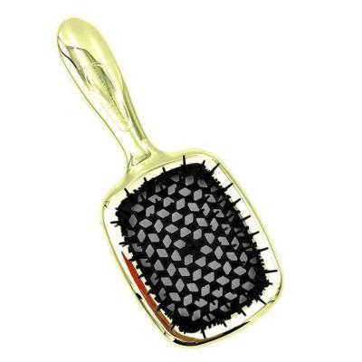 Щетка для Волос Черно-Золотая Janeke Superbrush Black and Gold