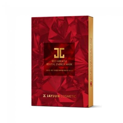 Восстанавливающая Энергетическая Маска Jayjun Red Miracle Revital Mask