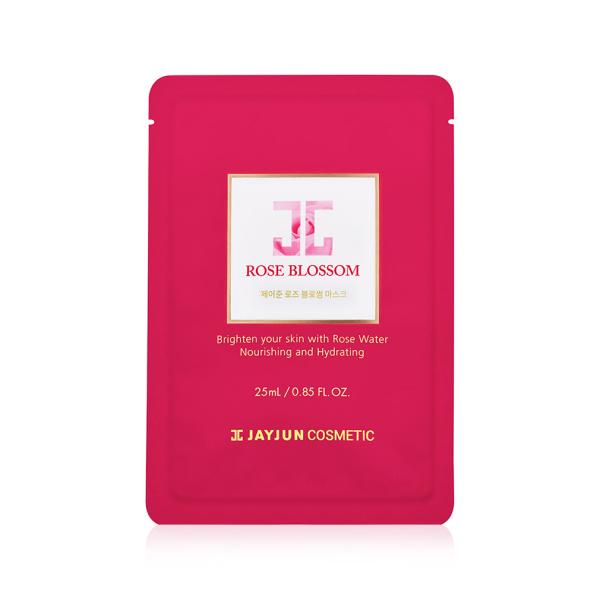 Тканевая Маска с Розовой Водой Jayjun Rose Blossom Mask