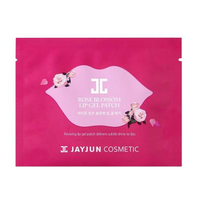Гелевые Патчи для Губ Jayjun Rose Blossom Lip Gel Patch 5 шт