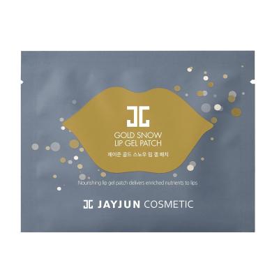 Гелевые Патчи для Губ Jayjun Gold Snow Lip Gel Patch 5 шт