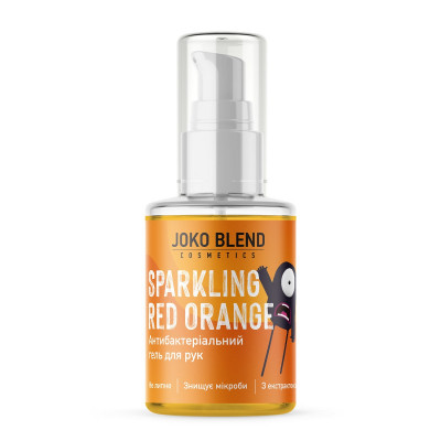 Антибактериальный Гель для Рук (Антисептик) Joko Blend Sparkling Red Orange 30 мл
