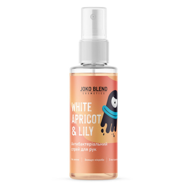 Антибактериальный Спрей для Рук (Антисептик) Joko Blend White Apricot & Lily 35 мл