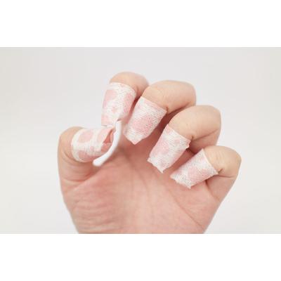 Кератиновая Маска для Ногтей Koelf Pink Nail Treatment Pack 20 шт