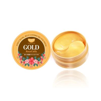 Гидрогелевые Патчи для Глаз с Золотом KOELF Gold & Royal Jelly Eye Patch 60 шт