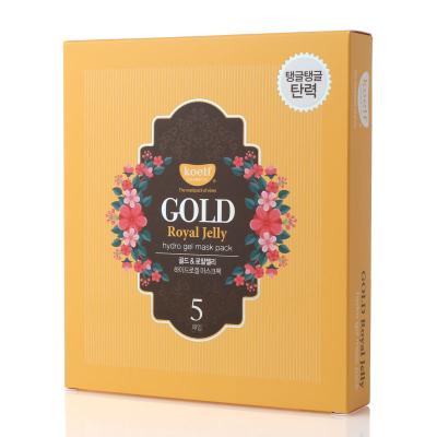 Гидрогелевая Маска для Лица с Золотом KOELF Gold & Royal Jelly Hydro Gel Mask 5 шт х 30 г