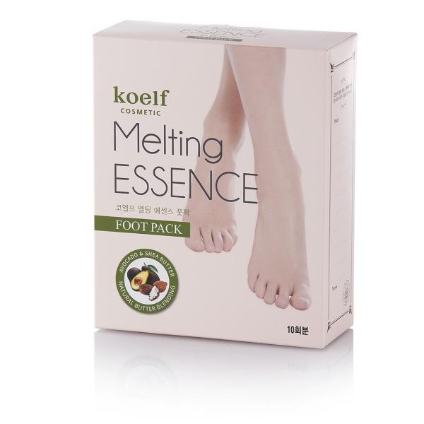 Маска для Ног Koelf Melting Essence Foot Pack 10 шт