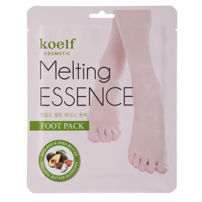 Маска для Ног Koelf Melting Essence Foot Pack 10 шт