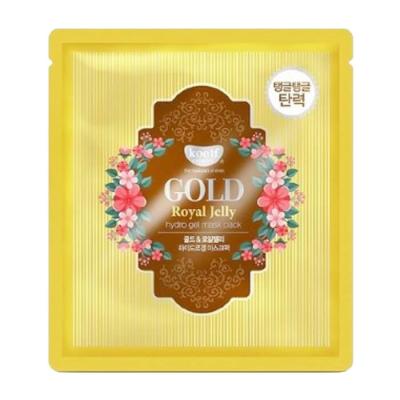 Гидрогелевая Маска для Лица с Золотом KOELF Gold & Royal Jelly Mask 1x30 г