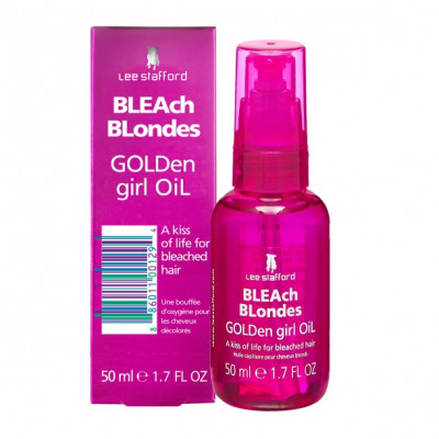 Питательное Масло для Осветленных Волос Lee Stafford Bleach Blondes Golden Girl Oil 50 мл
