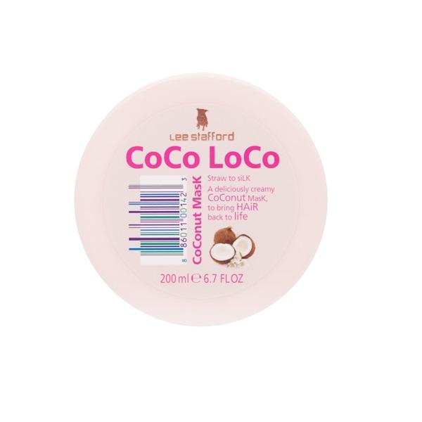 Увлажняющая Маска для Волос с Кокосовым Маслом Lee Stafford Coco Loco Coconut Mask 200 мл