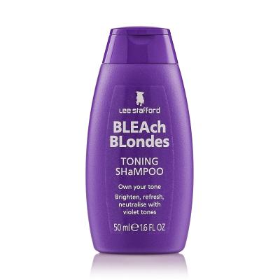 Шампунь для Осветленных Волос Lee Stafford Bleach Blondes Shampoo 50 мл