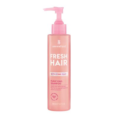Мягкий Очищающий Шампунь с Розовой Глиной Lee Stafford Fresh Hair Purifying Shampoo 200 мл