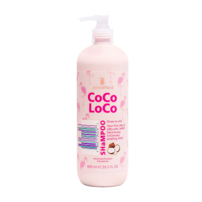 Увлажняющий Шампунь для Волос с Кокосовым Маслом Lee Stafford Coco Loco Shampoo 600 мл