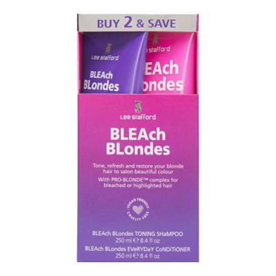 Набор для Окрашенных Волос Lee Stafford Bleach Blondes Twin Pack