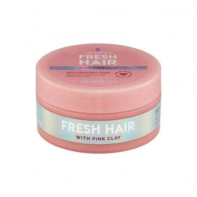 Восстанавливающая Маска с Розовой Глиной Lee Stafford Fresh Hair Replenishing Mask 200 мл