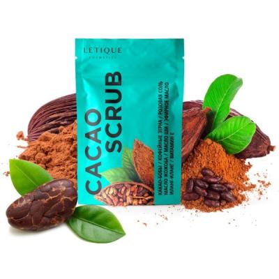 Скраб Какао для Тела Letique Cacao Scrub 250 г