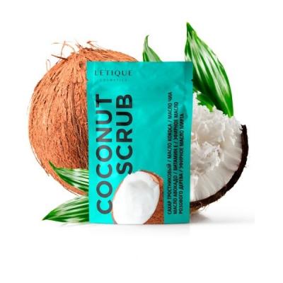 Скраб Кокосовый для Тела Letique Coconut Scrub 250 г