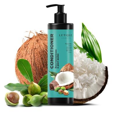 """Кондиционер """"Макадамия-Кокос"""" для Восстановления и Роста Волос Letique Macadamia Coconut Hair Conditioner 250 мл"""