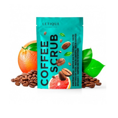 Скраб Кофейный для Тела Letique Coffe Scrub 250 г