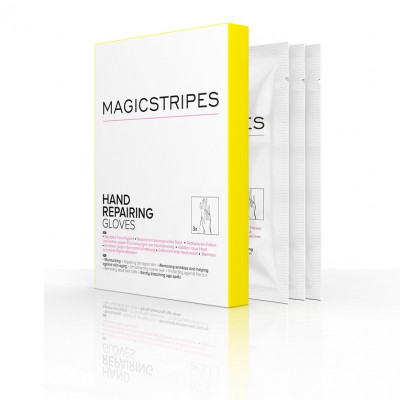 Перчатки для Восстановления Кожи Рук Magicstripes Hand Repairing Gloves Box 3 шт