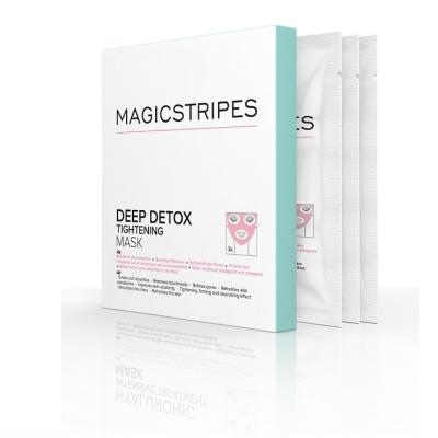Маска для Глубокой Детоксикации Magicstripes Deep Detox Tightening Mask Box 3 шт