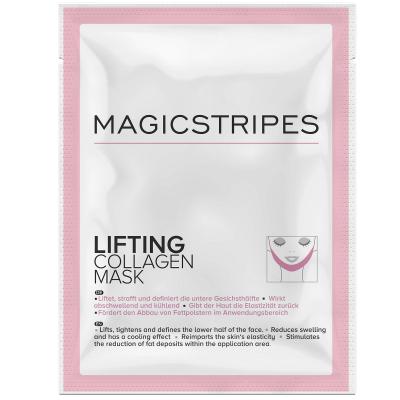 Подтягивающая Коллагеновая Маска на Область Щёк и Подбородка Magicstripes Lifting Collagen Mask Sachet 1 шт