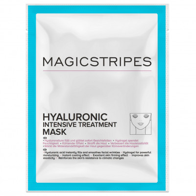 Гидрогелевая Маска с Гиалуроновой Терапией Magicstripes Hyaluronic Intensive Treatment Mask Sachet 1 шт