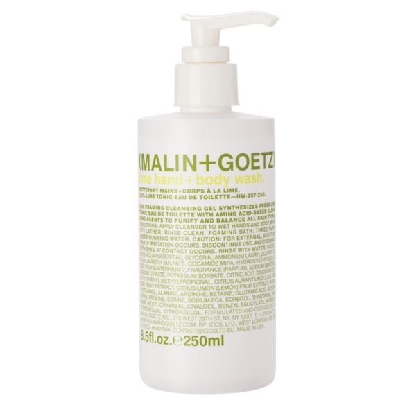 Гель-Мыло для Тела и Рук «Лайм» MALIN+GOETZ lime hand + body wash 250 мл