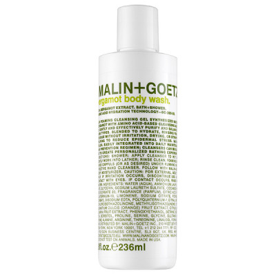Гель для Душа «Бергамот» MALIN+GOETZ bergamot body wash 236 мл