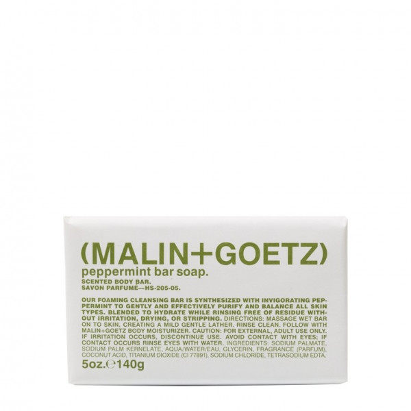 Мыло для Рук с Ароматом Мяты MALIN+GOETZ peppermint bar soap 140 г
