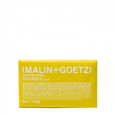 Мыло для Рук с Ароматом Рома MALIN+GOETZ rum bar soap 140 г