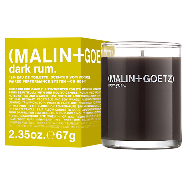 Свеча Ароматизированная Dark Rum MALIN+GOETZ dark rum votive 67 г