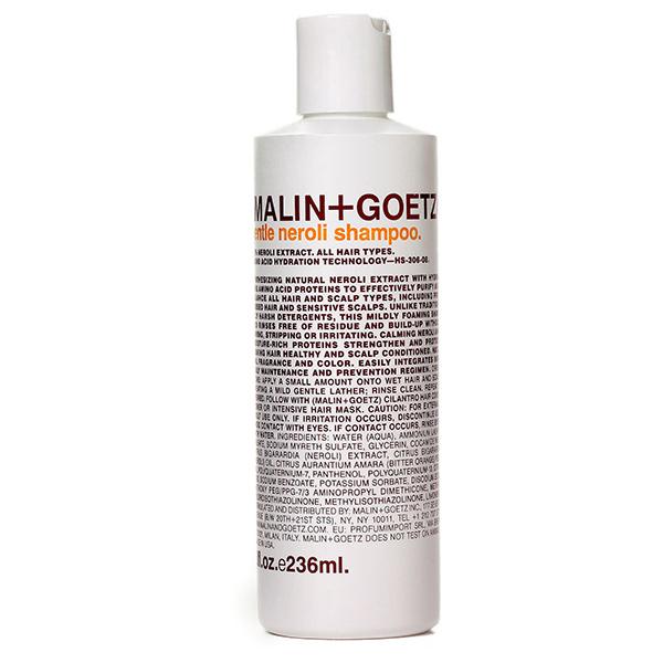 Шампунь для Волос Деликатный «Нероли» MALIN+GOETZ gentle neroli shampoo 236 мл