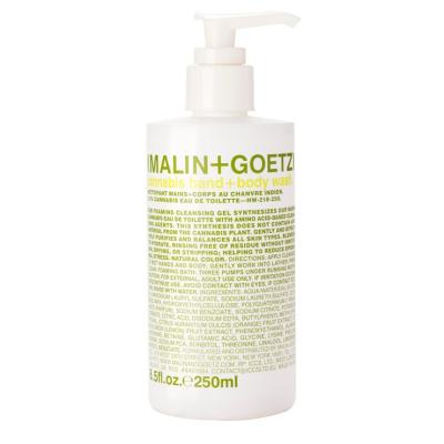 Гель-Мыло для Тела и Рук «Конопля» MALIN+GOETZ cannabis hand + body wash 250 мл