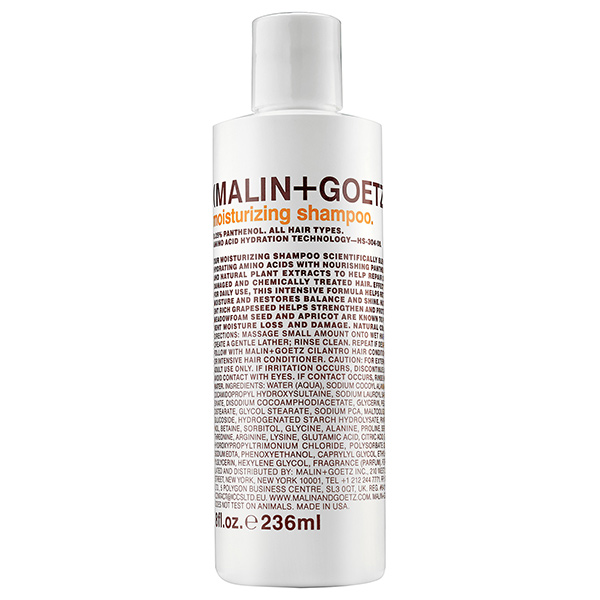 Шампунь для Волос Увлажняющий MALIN+GOETZ moisturizing shampoo 236 мл