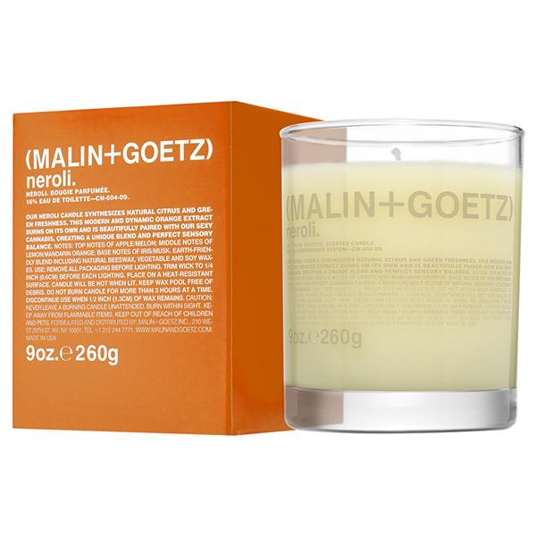 Свеча Ароматизированная Neroli MALIN+GOETZ neroli candle 260 г