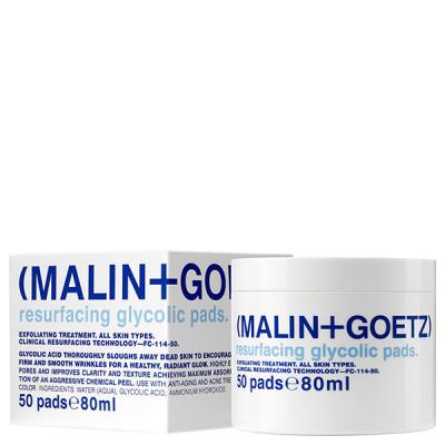 Восстанавливающие Гликолевые Диски 50 шт. MALIN+GOETZ resurfacing glycolic pads 80 мл
