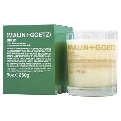Свеча Ароматизированная Sage MALIN+GOETZ sage candle 260 г