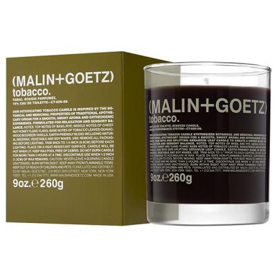 Свеча Ароматизированная Tobacco MALIN+GOETZ tobacco candle 260 г