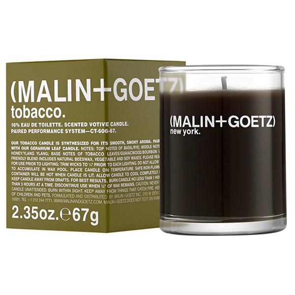 Свеча Ароматизированная Tobacco MALIN+GOETZ tobacco votive 67 г