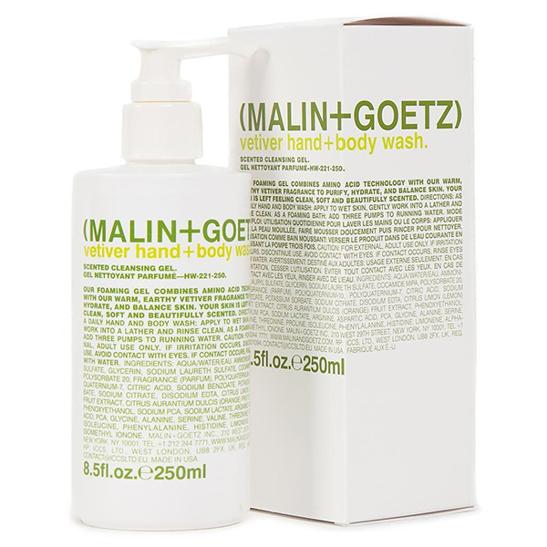 Гель-Мыло для Тела и Рук «Ветивер» MALIN+GOETZ vetiver hand + body wash 250 мл