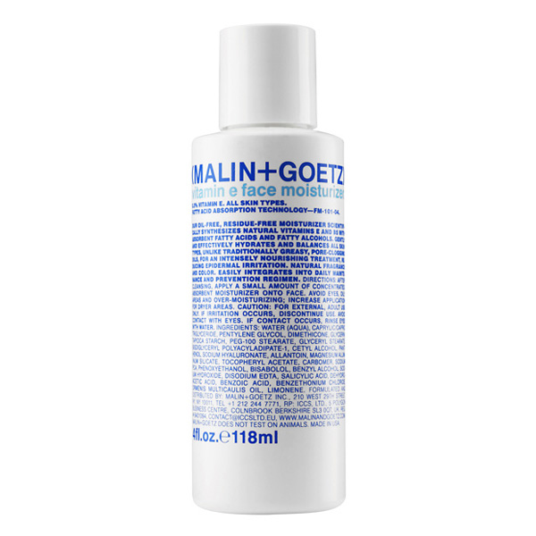 Крем для Лица Увлажняющий с Витамином E MALIN+GOETZ vitamin e face moisturizer 118 мл