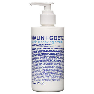 Крем для Бритья с Витамином Е MALIN+GOETZ vitamin e shaving cream 250 мл